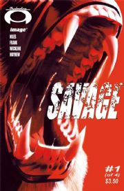 Savage #1 (2008) Steve Niles Image comic book